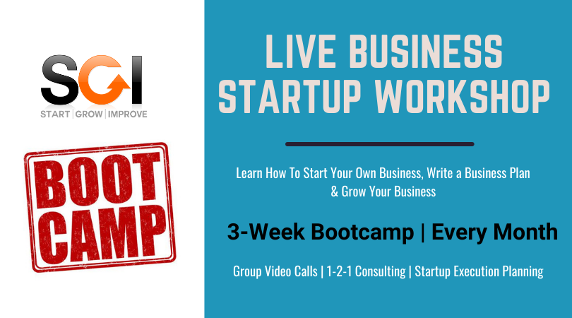 Start Your Own Business Course -SGI Bootcamp